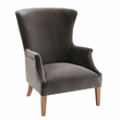 Harbor House Sergio Wing Back Accent Chair in Dark Gray - Olliix HH100-0137