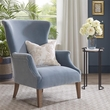Harbor House Sergio Wing Back Accent Chair in Light Blue - Olliix HH100-0135