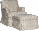 Iain Chair & Ottoman Olvera Sandstone - Chelsea Home Furniture 392495F40-50-GR-OS