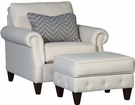 Ice Chair & Ottoman Dixon Oatmeal - Chelsea Home Furniture 394040F40-50-GR-DO