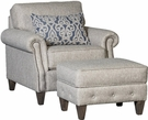 Ice Chair & Ottoman Runaround Stone - Chelsea Home Furniture 394040F40-50-GR-RS