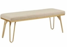 INK+IVY Beverly Bench in Tan/Gold - Olliix II105-0289