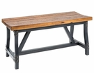INK+IVY Lancaster Dining Bench in Amber - Olliix FPF20-0313