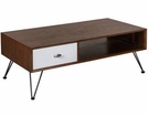 INK+IVY Mia Coffee Table in Brown/White - Olliix II120-0304
