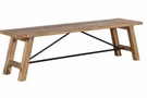 INK+IVY Sonoma Dining Bench in Natural - Olliix II105-0313