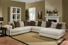 Irene Sectional Almond Credo - Chelsea Home Furniture 730880-3PC -25015-AC