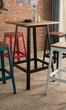 Jacotte Bar Table in Natural & Black - Acme Furniture 72330