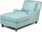 Jasmine Chaise Crawford Turquoise G1 - Chelsea Home Furniture 791609-CH-CT