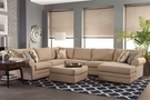 Kerry Rigt Arm Facing Chaise - Sleeper Sectional - Chelsea Home Furniture 255100-25L-SL-SEC-VL