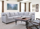Kristy Jean 2 Pc Sectional Silver - Chelsea Home Furniture 28KRI009-SEC-1034S