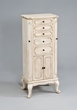Lief Jewelry Armoire in Antique White - Acme Furniture 97202