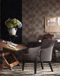 Madison Park Alexis Rollback Accent Chair in Charcoal - Olliix FPF18-0094