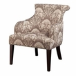 Madison Park Alexis Rollback Accent Chair in Taupe - Olliix FPF18-0030