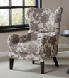 Madison Park Arianna Swoop Wing Chair in Multi - Olliix FPF18-0428