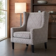 Madison Park Barton Wing Chair in Beige/Natural - Olliix FPF18-0153