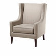Madison Park Barton Wing Chair in Taupe - Olliix FPF18-0152