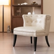 Madison Park Bianca Accent Chair in Ivory - Olliix FPF18-0148