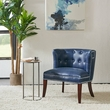 Madison Park Bianca Accent Chair in Navy - Olliix FPF18-0492