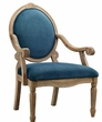 Madison Park Brentwood Accent Chair in Blue - Olliix MP100-0506