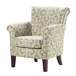 Madison Park Brooke Chair in Green - Olliix FPF18-0109