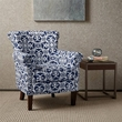Madison Park Brooke Chair in Navy - Olliix FPF18-0486