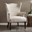 Madison Park Cabot Accent Chair in Natural/Ivory - Olliix MP100-0101