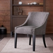 Madison Park Caitlyn Roll Back Accent Chair in Grey - Olliix FPF18-0157