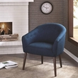 Madison Park Camilla Barrel Back Accent Chair in Navy - Olliix FPF18-0215