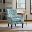 Madison Park Carissa Shelter Wing Chair in Multi - Olliix FPF18-0420