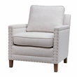 Madison Park Cheshire Accent Chair in Grey Multi/Grey - Olliix MP100-0216