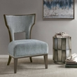 Madison Park Clayton Accent Chair in Blue - Olliix MP100-0505