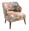 Madison Park Cody Open Back Accent Chair in Multi - Olliix FPF18-0395