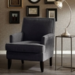 Madison Park Colton Track Arm Club Chair in Charcoal - Olliix FPF18-0161
