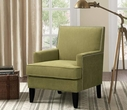 Madison Park Colton Track Arm Club Chair in Green - Olliix 5060GRN