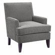 Madison Park Colton Track Arm Club Chair in Grey - Olliix FPF18-0160