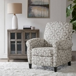 Madison Park Kirby Recliner Chair in Grey - Olliix MP103-0610