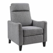 Madison Park Manchester Recliner in Charcoal - Olliix MP103-0469