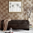 Madison Park Mirage Tufted Top Storage Bench in Brown - Olliix FPF18-0138