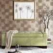 Madison Park Mirage Tufted Top Storage Bench in Green - Olliix FPF18-0194