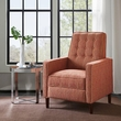 Madison Park Omega Push Back Recliner in Red - Olliix MP103-0254