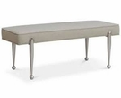 Madison Park Signature Grace Bench in Gray - Olliix MPS105-0127