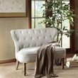 Madison Park Stanford Settee in Beige/ Reclaimed Natural - Olliix MP106-0384