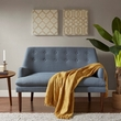 Madison Park Taylor Settee in Blue - Olliix MP106-0478