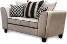 Millie Loveseat Riley Cement - Chelsea Home Furniture 424160-07L-RC