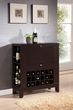 Nelson Wine Cabinet w/ Drawer in Wenge - Acme Furniture 97010