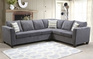 Rey Sectional Grady Gray - Chelsea Home Furniture 294182-SEC-GG