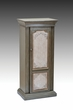 Riker Jewelry Armoire in Antique Gray & Antique Beige - Acme Furniture 97206