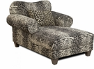 Sheldon Chaise Mombasa Panther - Chelsea Home Furniture 296600-CH-MP