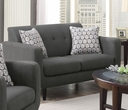 Stansall Collection Grey Loveseat - Coaster 505202