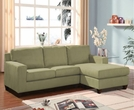Vogue Sectional Sofa (Rev. Chaise) in Sage Mfb - Acme Furniture 05915
